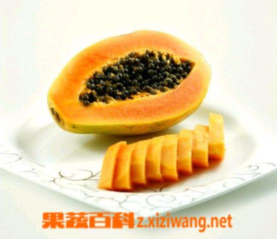 果蔬百科木瓜